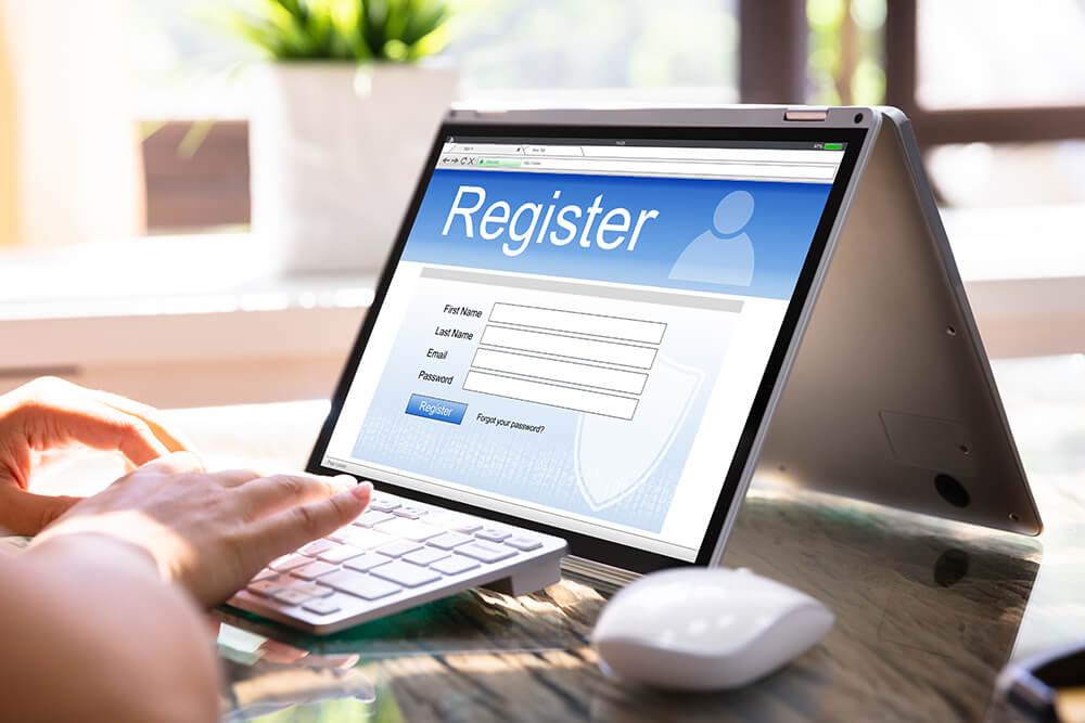 オンラインカジノの登録