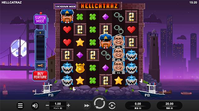 Hellcatrazの画面