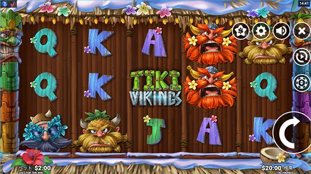 Tiki Vikingsの画面