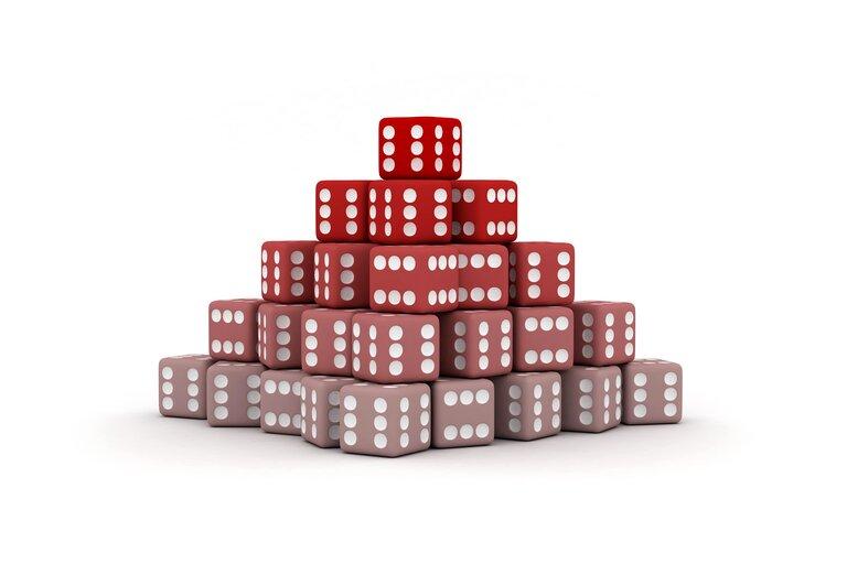 ピラミッド法(ダランベール法)の使い方・賭け方